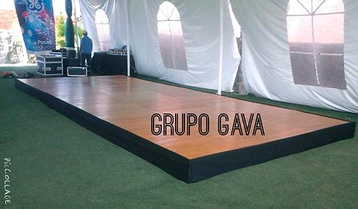 Escenarios, Grupo Gava
