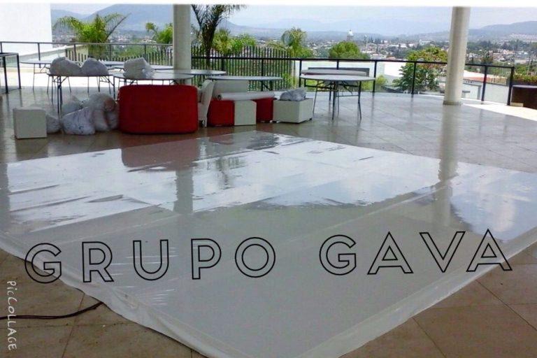 Pista de Charol Blanco